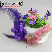 Hot Fashion Nice Flower Feather Masks for Party