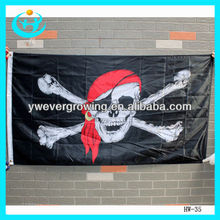 Bar decorate skull and crossbones pirate flag halloween pirate decorations