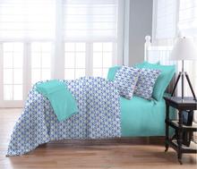 Hot selling Fashion and popular design 300T 100% Cotton comforter, professional 8pcs comforter set, reactive print bedding