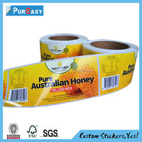 Top grade custom label manufacturer adhesive food labels