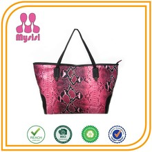 Picture Price Wholesale Buy Large Women Tote Bags Python Skin Leather Purses Handbags Online Shopping