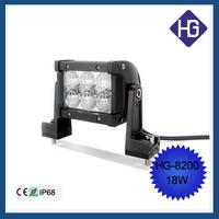 Car accessories car dome light maintenance double row 18W work light