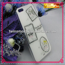 pretty and lovely plastic phone cover for iphone 4/5