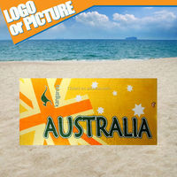 2015 promottion Australian customised beach towel sydney unique swimming match bath towel