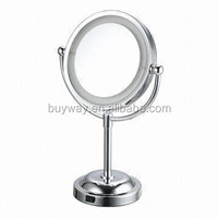 Best selling cosmetic desk framed half silvered mirror