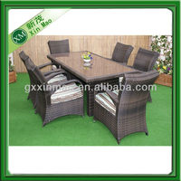 6 Seater Texas Rectangle Table Set