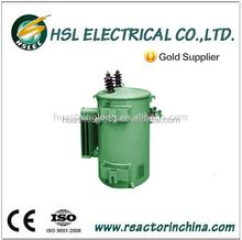 power single phase pole mounted transformer 63kva