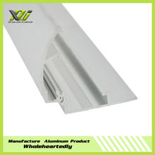 2015 New aluminum poster clamps profile