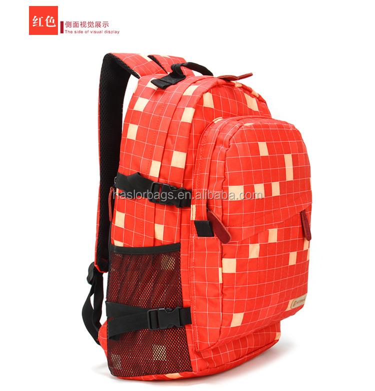 Nouvelle conception haute capacité personnalisé personnalisé sacs à dos de sport pour adolescents