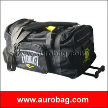 LB8480 polyester duffel bag with trolley