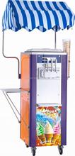 Machine à crème glacée Carpigiani utilisé pour cornet de crème glacée café