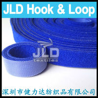 back to back Welcro tape fabric loop and injection hook fastener