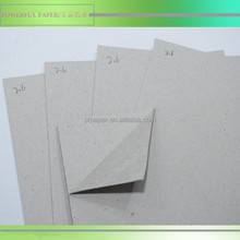3mm Grey bookbinding boards 1850gsm Gray chip board