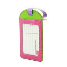 2015 factory direct high grade luggage tag with assort colors