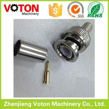 BNC male Right angle screw on clamp RG59 / ROHS / BNC connector