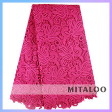 Mitaloo embroidered pattern swiss guipure lace for fashion dress MS03