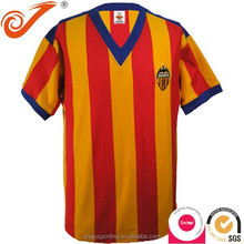 V-neck sports jersey new model, polyester new design sports jersey futbol