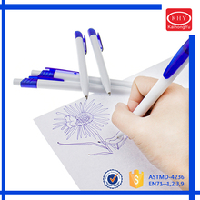 Customized logo retractable plastic ballpoint pens