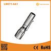 LM071AA1 2015 New Aluminum tactical falshlight with pen clip dry battery surported Mini LED Pocket Flashlight