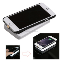 [Somostel] High quality external back up for samsung galaxy s4 mobile phone battery case cover power bank charger with light