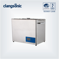 30L Adjustable Industrial Stainless Steel Ultrasonic Cleaning For Bearing /Valve/Tableware