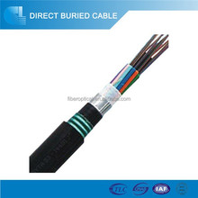 GYTA53 stranding optical fiber cable with LAP sheath and steel tape armoring jacket