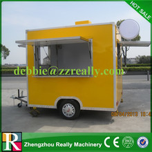 Mobile food vending truck for snack foods and drinks