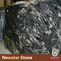 Newstar black cosmic granite price of granite tiles