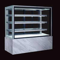 Refrigerated cake showcase/cake display refrigerator/cake showcase chiller