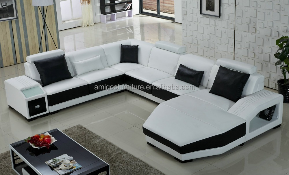 Classical Furniture Modern Sofa Set Cheap L Shape Sofa