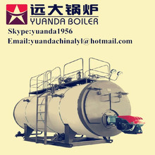 HOT SALE ! Low pressure running oil or gas fired steam boiler for chemical/medical/construction industry