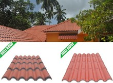 synthetic resin plastic spanish roof tile