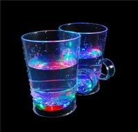 2015 Newest style led flash Straight drink Cup