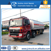 6X2 oil tanker truck,fuel tank truck,oil tank truck for sale FOTON auman 23000L
