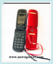 Desconto paypal simples Display colorido cor e TFT tipo sem fio flip phone fácil usado neutro móvel telefone