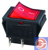 on-off 15a 125vac rocker switch with LED