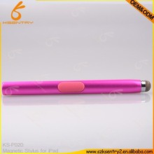 Hot selling magnetic touch pen , silicone tip touch pen , stylus touchscreen pen