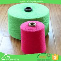 oeko-tex certification 65% cotton 35% polyester used knitting crochet yarn twisting machines