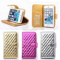 Leather flip for apple iphone 5 case phone, for iphone 5 wallet case book style, for iphone 5 leather case