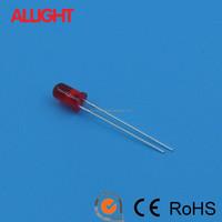 5mm led 625nm red high brightness