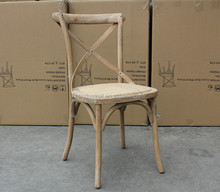 Wooden Dining Room Chair/John F Classic Kennedy Chair Hotel Chair,Solid wood design wooden X seat Crossback dining chair