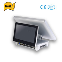 New touch screen cash register pos terminal /all in one windows pos tablet