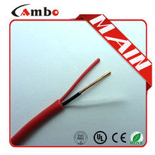 Direct buy from China 1000ft Red Solid For fire alarm system Fireresistand Armered Cable 2 x 16 awg