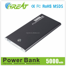 Innovations design new mobile accessories emergency li-polymer battery Charger for samsung galaxy note3 power bank
