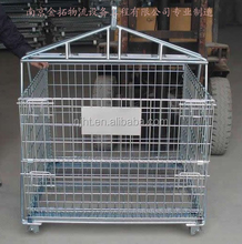 warehouse using Galvanized wire mesh cage