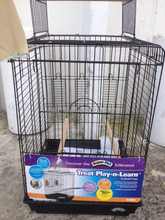 Top Open Play Stand Parrot Bird Cage, Guangzhou Bird Cage for COCKATIEL
