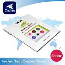 OEM Custom Phone Bottom Sticker Epoxy Sticker