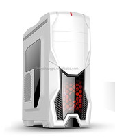 Fashional gaming case/atx gaming computer case/desktop computer pc gaming case support three SSD