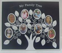 2014 aluminum photo frame family tree