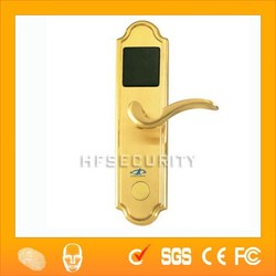 HF-LM801 Magnetic smart hotel 5v dc door lock with swipe cards